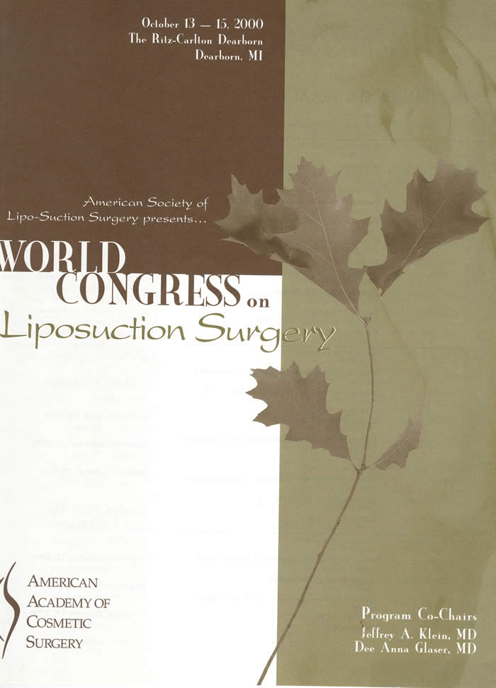 World Congress on Liposuction Surgery 1