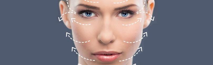 zatezanje čela i podizanje obrva