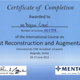 International Course on Breast Reconst and Augm Thomas N